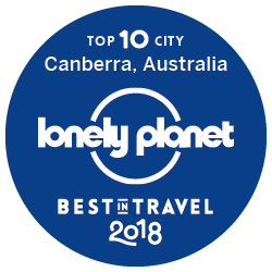 Rated by Lonely Planet as the 3rd greatest city in the world.